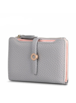 Lovely Leather Short Women Wallet Fashion Girls