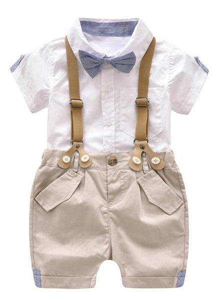 Boys Clothing Set Summer Baby Suit Shorts Shirt
