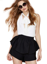 High Waist Loose Female Bodycon Shorts