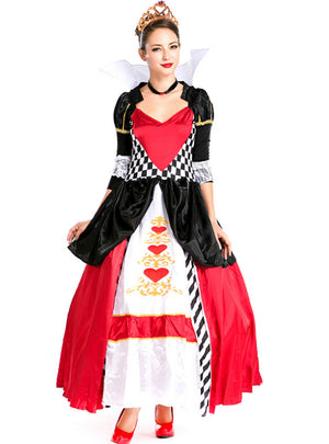Queen of Hearts Poker Pack Halloween Costume