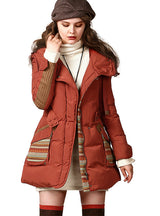 Down Jacket For Women White Duck Down Coat