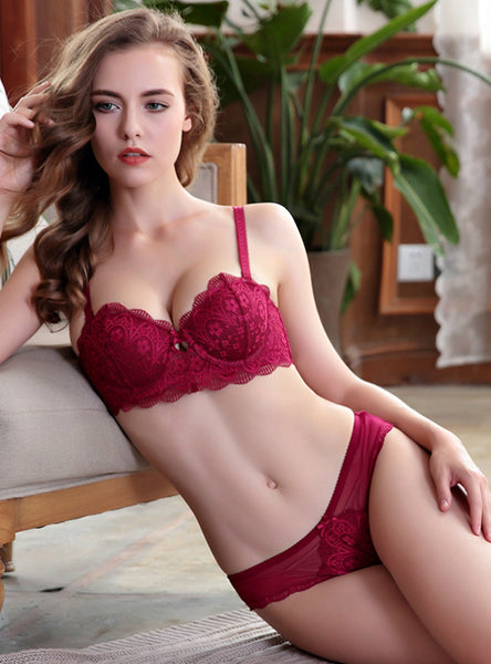 Gather Together The Sexy Lace Underwear Bra Set