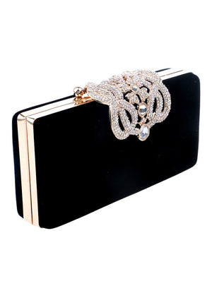 Clutch Crown Rhinestones Evening Bags