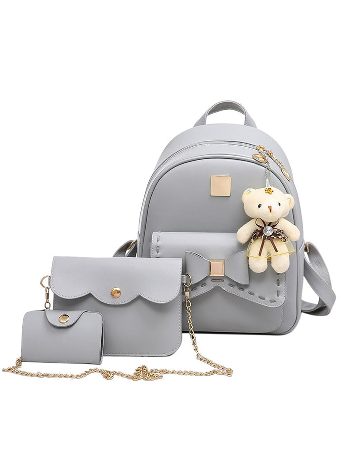 Women Pu Leather BackPack Famous Brand School