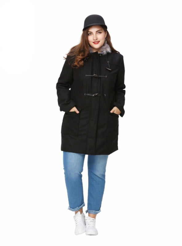 Thick Coat Basic Preppy Style Outwear Long Sleeve