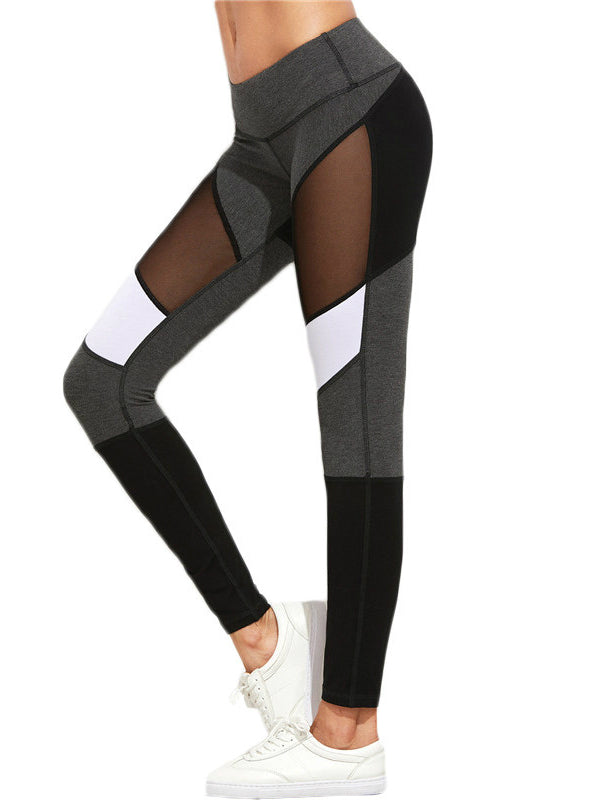 Workout Pants New Arrival Mesh Insert Leggings