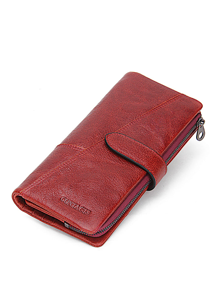 Women Wallets Brand Design Genuine Leather
