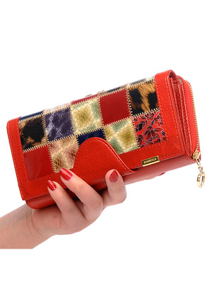 Genuine Leather Women Wallets Coin Pocket Female
