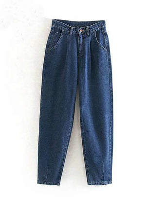 Loose Casual Harem Pants Boyfriends Mom Jeans