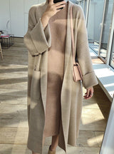 Winter Elegant Winter Coats Loose Knit Cardigan