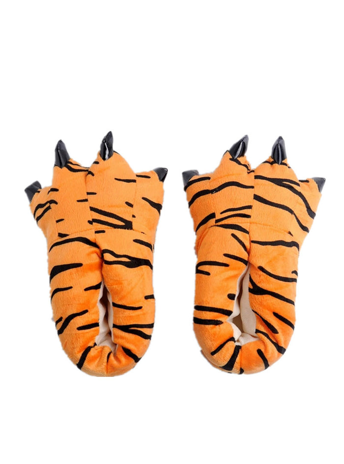Animal Unisex Paw Slippers Winter Warm Christmas