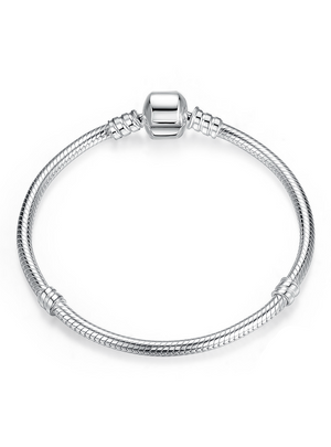 925 Sterling Silver Snake Chain Bangle & Bracelet