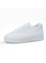 Sneakers Basket White Women Flats Platform