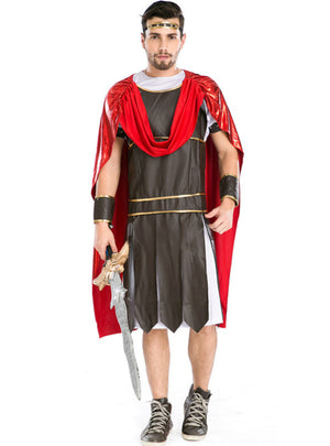 Men Halloween Gladiator Cosplay Spartan Warrior