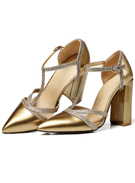 Pointed Toe Shallow Single Shoes High Heels