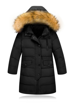 Winter Girls Thickening Warm Down Jackets Boys