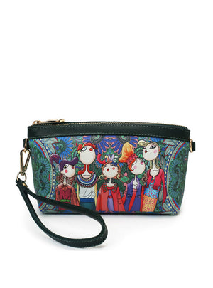 Ladies Colorful Small Shoulder Flap Bag Girls
