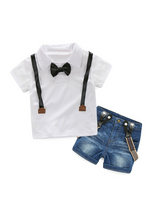 Boys Clothing Sets Shirt + Jeans 2pcs Boys Suits
