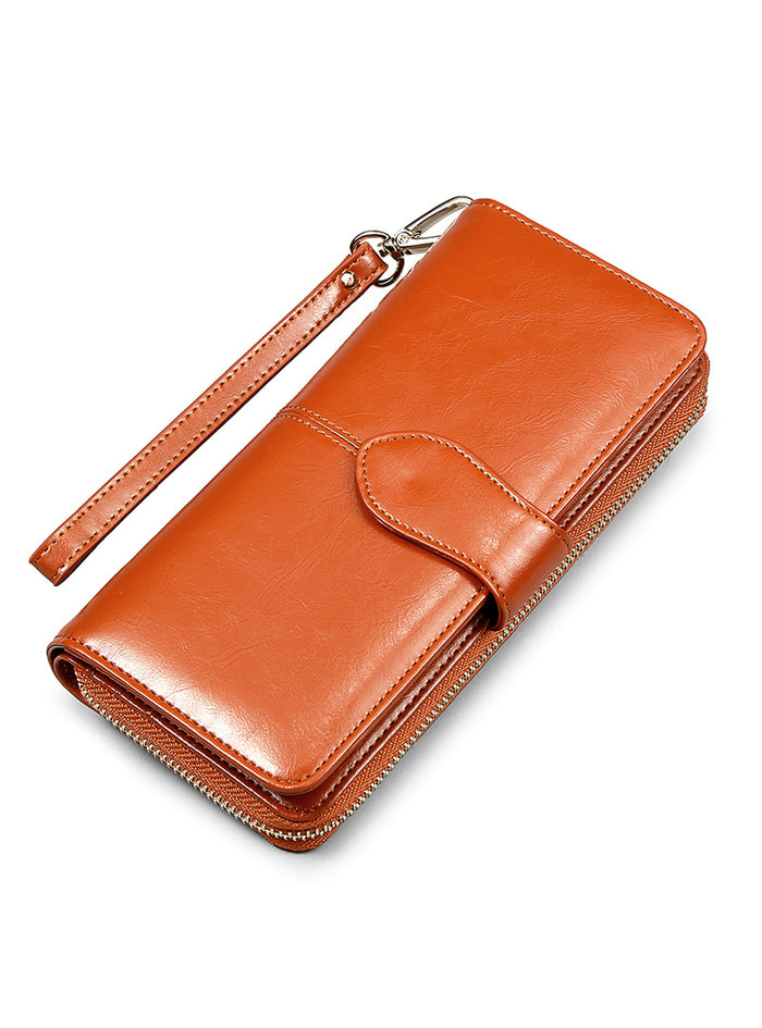 Wallet Brand Coin Purse Split Leather Purse