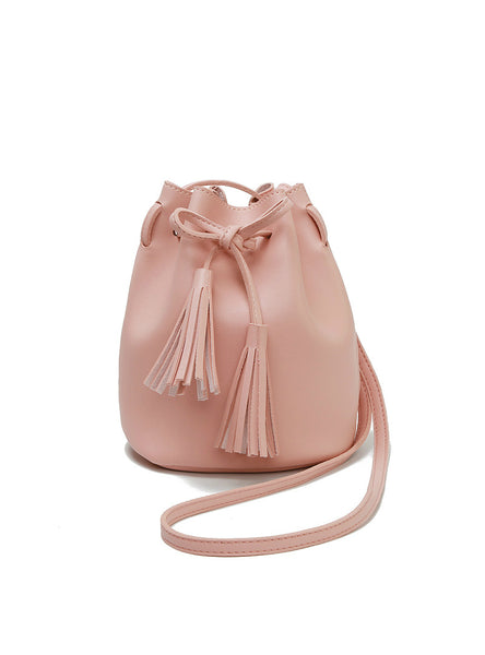 Summer Tassel Women Bags Leather Purses