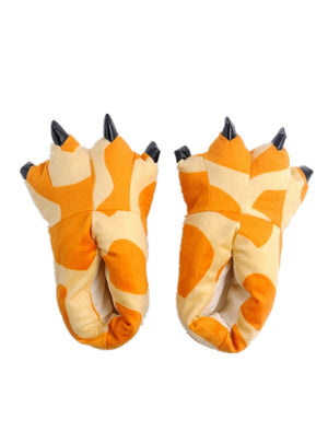 Animal Unisex Giraffe Indoor Soft Claw Slippers