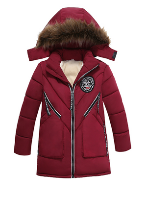 Children Winter Jackets Warm Boys Clothes