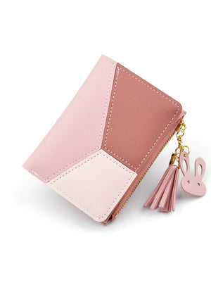 Women Cute Pink Wallets Pocket Purse Card Holder