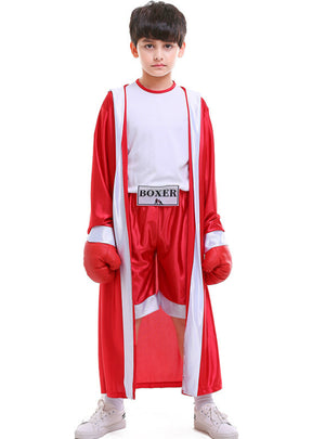 Children's Sportswear Boxer Boxing Match Clothes