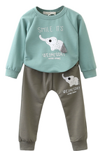 Autumn Baby Sets Kids Long Sleeve Sports Suits