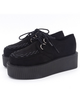 Platform Lace Up Shoes Creepers Flats Footwear