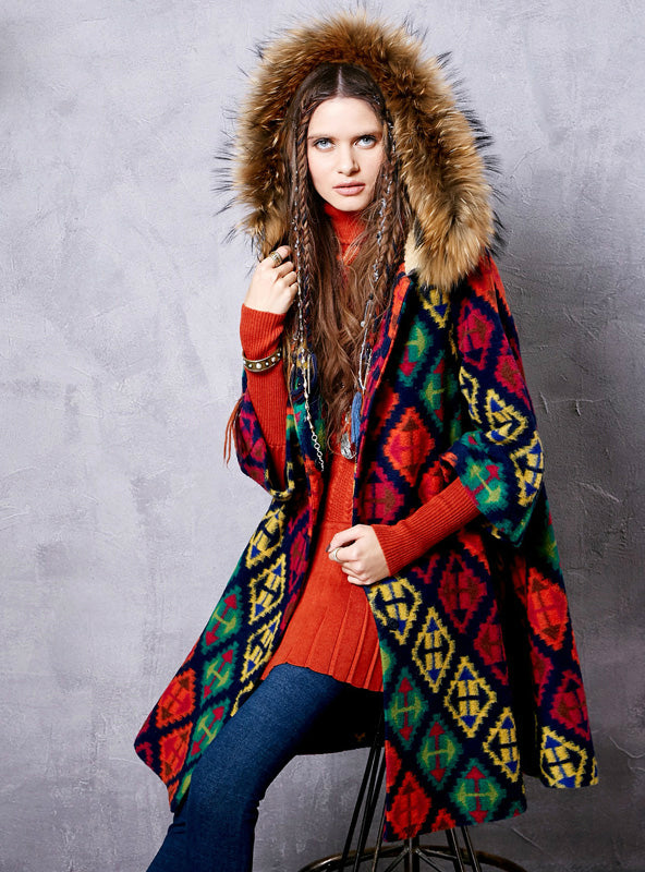 Winter Jacket Female Autumn Coat Wool Cardigan
