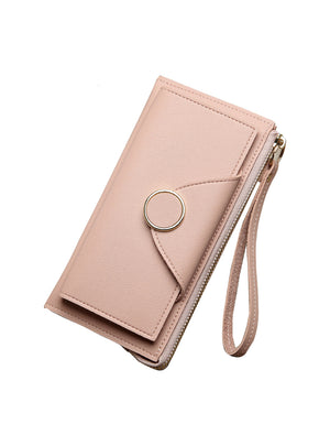 Women Wallet Leather Card Coin Holder Money