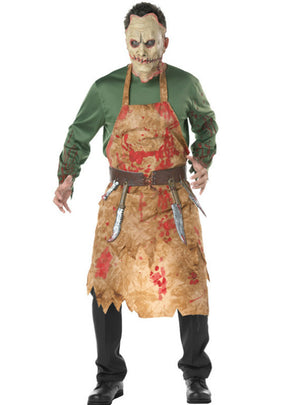 Halloween Costumes Bloody Butcher Chef