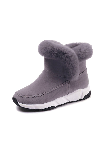 Women Shoes Woman Snow Boots Ankle Warm Platform