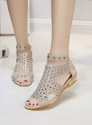 Summer Shoes Fashion Rivet Gladiator Sandals Women