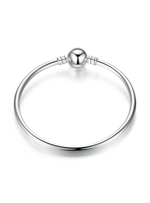 925 Sterling Silver Classic Bangle & Bracelet