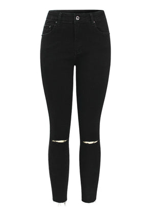Denim Pants Trousers For Woman Pencil Skinny