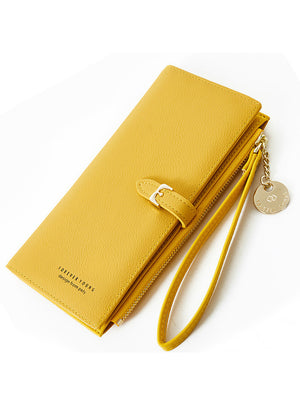 Long Wallet Many Departments Female Wallets Clutch