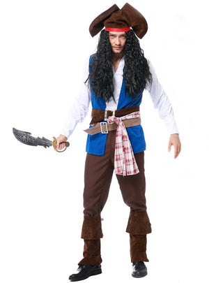 Men's Pirates Jack Pirate Captain Costume