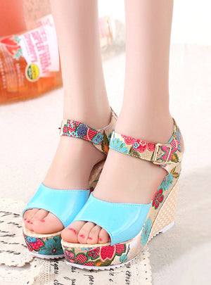 Women Sandals Summer Platform Wedges Casual Shoes