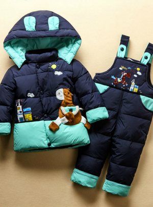 Boy Down Jacket Clothing Sets Kids Down & Parkas