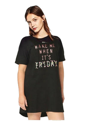 Printing Front T-shirt Long Style Brief T-shirt