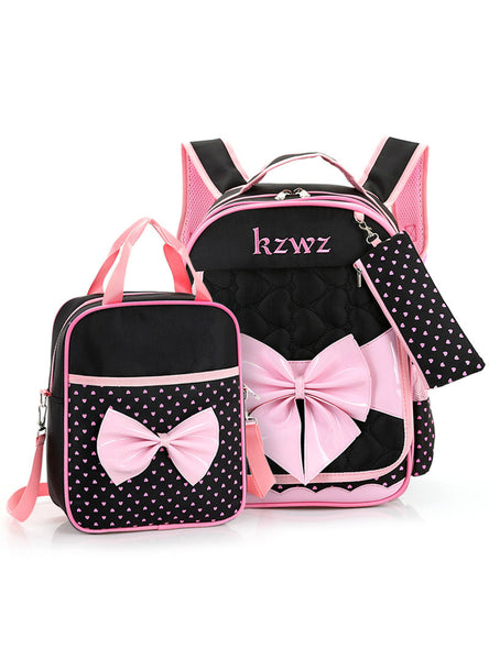 3 Pcs/Set Girl School Backpack Children School Backpacks