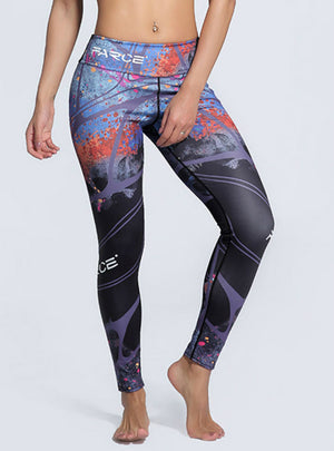 Printed Female Trousers Gyms Fitness Leggings