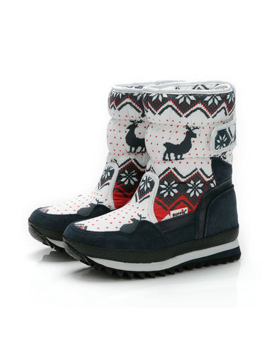 Winter Warm Boots Antiskid Outsole Lady Snow Boots