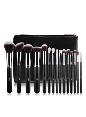 15pcs Makeup Brushes Set Powder Foundation Eyeshadow