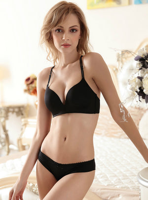 Seamless Bra Without Steel Ring Thin Suit