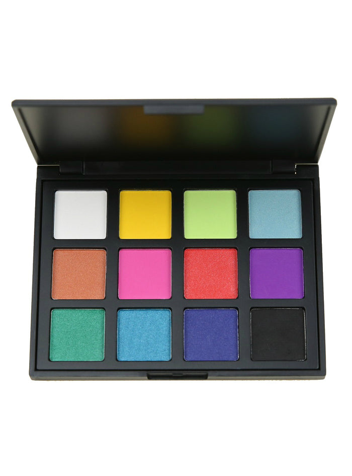 12 Color Shimmer Nature Glow Eyeshadow Palette