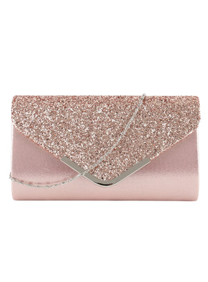 Ladies' Evening Purse Vintage Chain Wallet