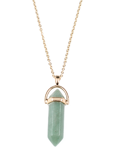 Fashion Opal Pendant Necklace For Women Jewelry
